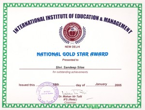 National Gold Star Award 2005