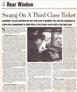 Indian Express Oct 8, 2000